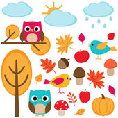 Outono — Vetorial Stock