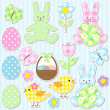 Easter set — Stock Vector #9467953