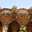 Viaducts in Park Guell, Barcelona — Stock Photo #12056718