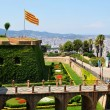 Stock Photo: Montjuic Castle, Barcelona