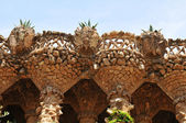 Viaducts in Park Guell, Barcelona — Stock Photo