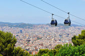 Cable car in Barcelona, Spain — Stock Photo