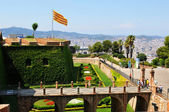 Montjuic Castle, Barcelona — Stock Photo