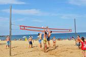 Plaj voleybolu — Stok fotoğraf