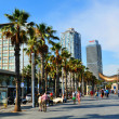 Barceloneta (Barcelona, Spain) — Stock Photo