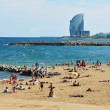 Barceloneta beach in Spain — Stock Photo