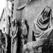 Sagrada Familia. Architectural detail - Stock Photo