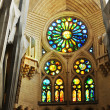 Stained glass window - Foto Stock