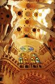 Sagrada familia (barcelona, i̇spanya) — Stok fotoğraf