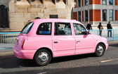Pink car — Stock Photo