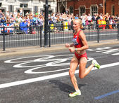 Olympic marathon — Stock Photo