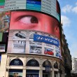 Piccadilly Circus in London, UK — Stockfoto