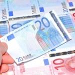 Euro banknotes — Stock Photo #31337657