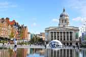 Nottingham, UK — Stock Photo