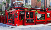 Temple bar v Dublinu, Irsko — Stock fotografie