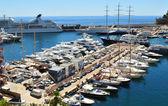 Luxurious yachts — Stock Photo
