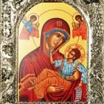 Religious painting — Stock Photo