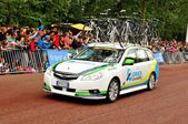 Orica-GreenEdge Team in the Tour de France — Stock Photo