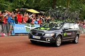 Equipe movistar no tour de france — Foto Stock