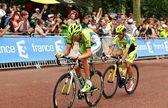 Tour de France in London, UK — Stock Photo
