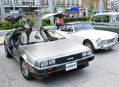 Vintage DeLorean DMC-12 sport car — Stock Photo