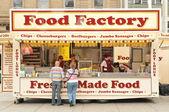 Food Factory — Stock Photo