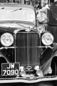 Sunbeam retro car closeup — Foto Stock
