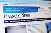Financial news — Stock Photo