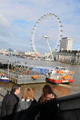 London's Eye — Stock Photo