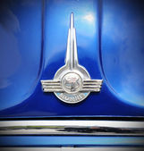 Morris vintage car logo — Stock Photo