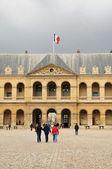 Les Invalides in Paris, France — Stock Photo