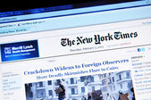 The New York Times — Stock Photo
