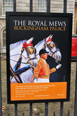 The Royal Mews at Buckingham Palace — Stock Photo
