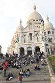Sacre-Coeur Basilica in Paris, France — Stock Photo