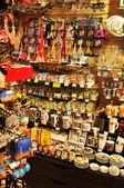 Souvenir shop in Paris, France — Stock Photo