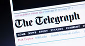 The Telegraph — Stock Photo
