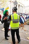 Occupy London — Stock Photo