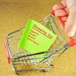 Shopping list — Stock Photo #6673284
