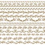 Horizontal elements decoration vector — Stock Vector #13234532