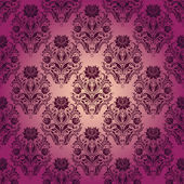 Damask seamless floral pattern — Stockvektor