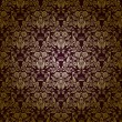 Damask seamless floral pattern — ベクター素材ストック