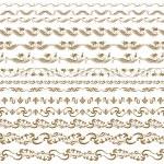Horizontal elements decoration vector — Stock Vector #15716025