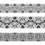 Horizontal elements decoration vector — Stock Vector #28998529