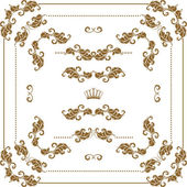 Decorative frame — Vettoriale Stock