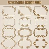 Decorative frame — Stockvektor