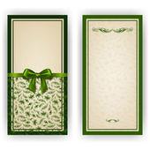 Elegant vector template for luxury invitation, card — Wektor stockowy