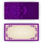 Elegant vector template for luxury invitation, card — Stock Vector #35624505