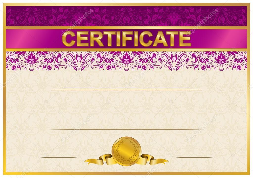 Blank Certificates - Free Printable Certificates