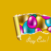 Seamless vector easter background — Stock Vector