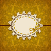Elegant template luxury invitation card — Vector de stock